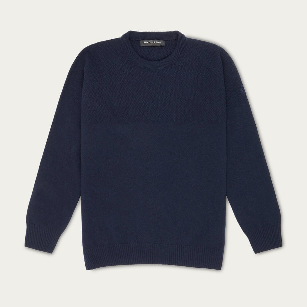 Navy Blue Dulwich Sweater | Bombinate