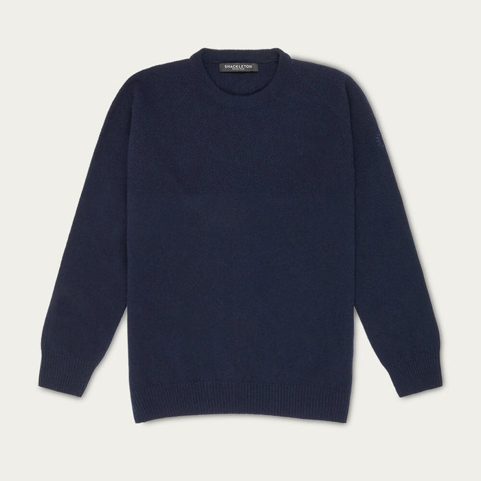 Navy Blue Dulwich Sweater | Bombinate