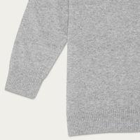 Light Grey Dulwich Sweater | Bombinate