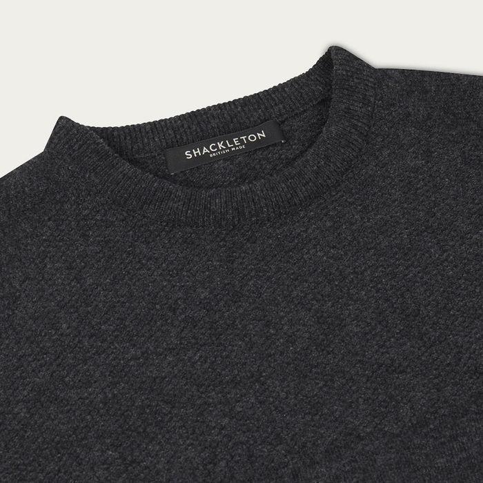 Charcoal Grey Dulwich Sweater | Bombinate