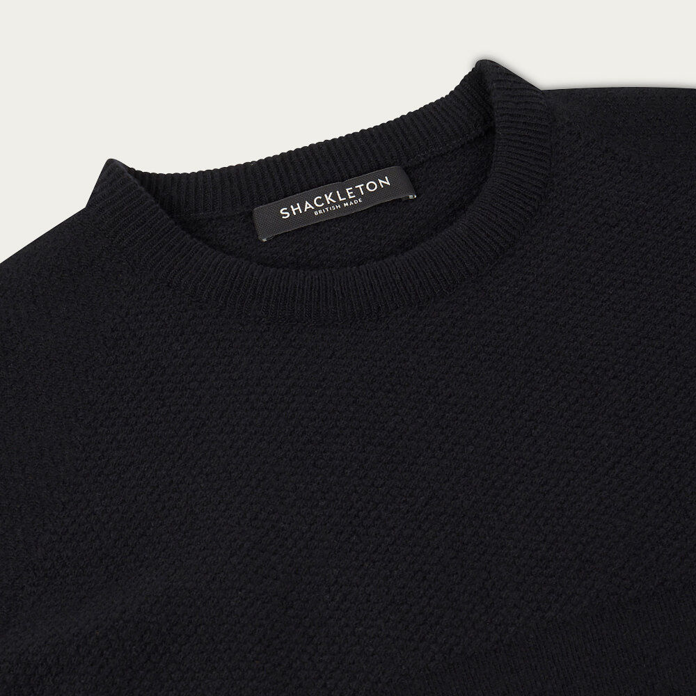 Black Dulwich Sweater | Bombinate