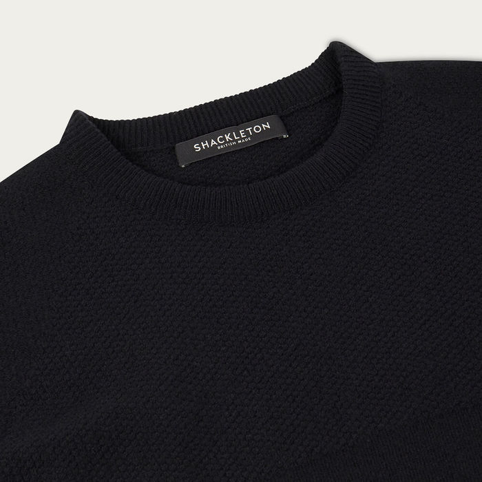 Black Dulwich Sweater | Bombinate