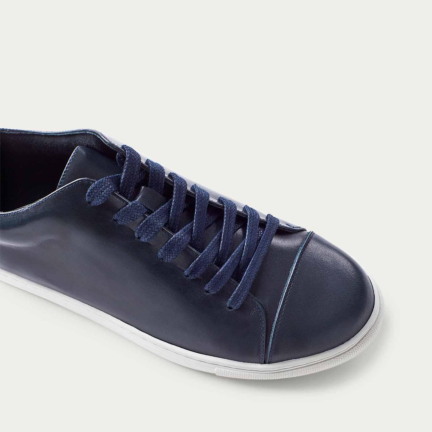 Navy Alex Sneaker  | Bombinate