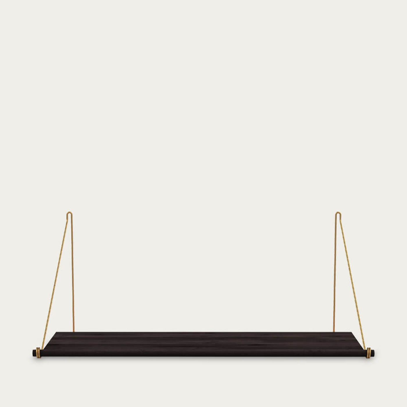 Brass Loop Shelf Dark | Bombinate