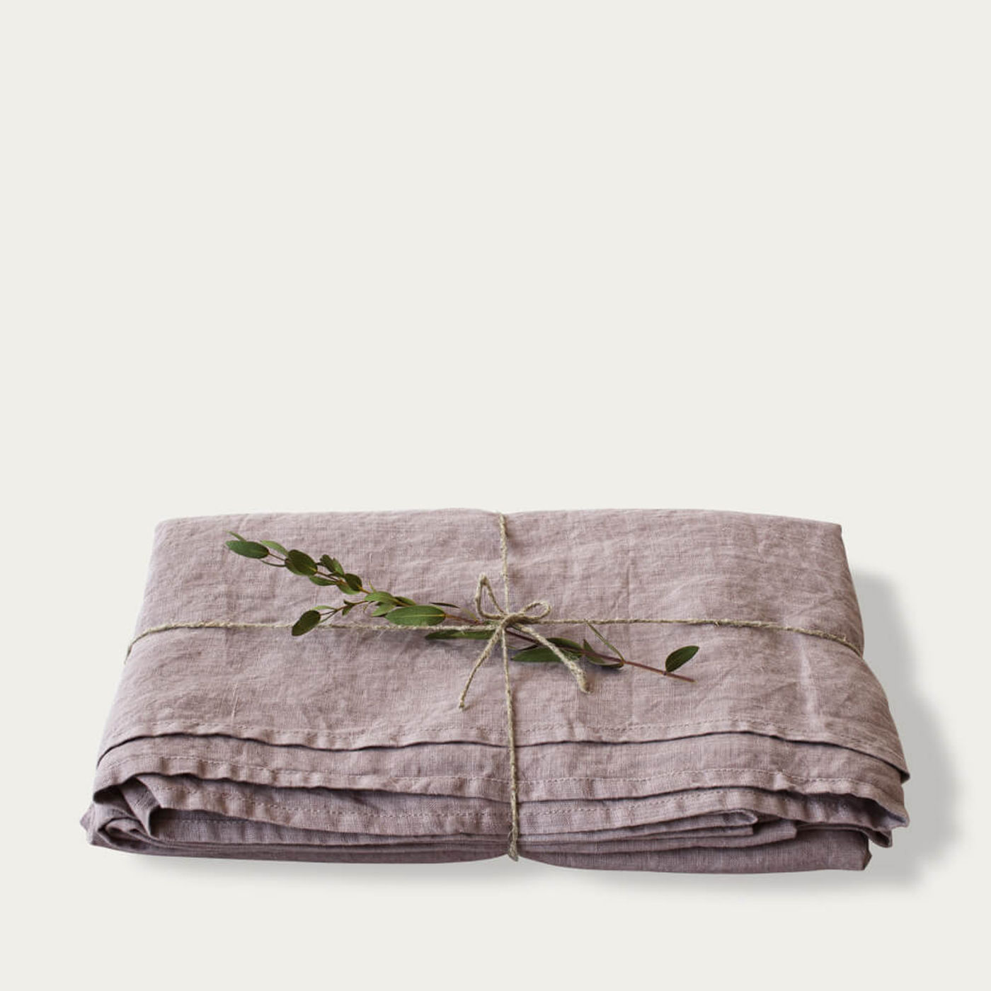 Ashes of Roses Washed Linen Bed Set   Bombinate
