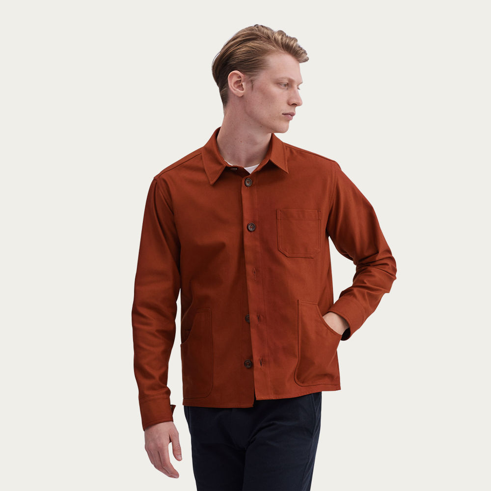 Cinnamon Outershirt | Twill | Bombinate