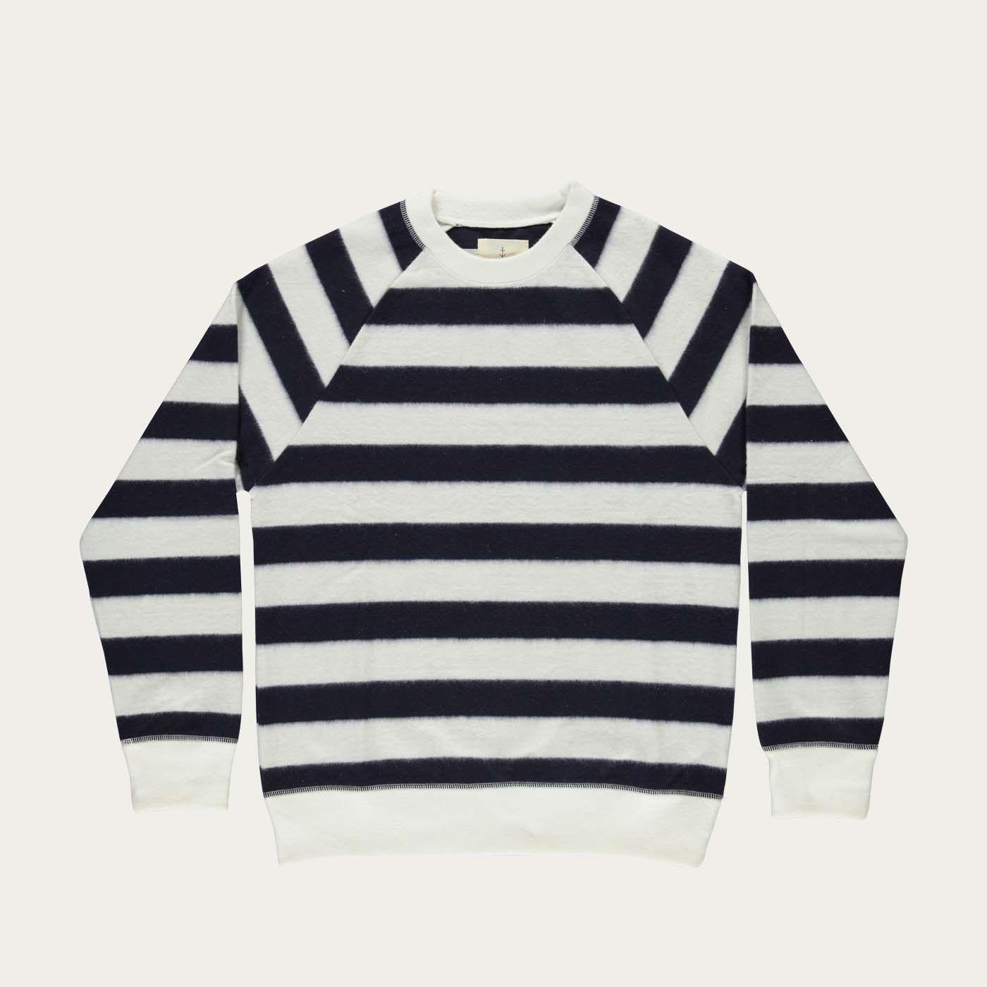 Navy Stripes Cunha Sweatshirt | Bombinate