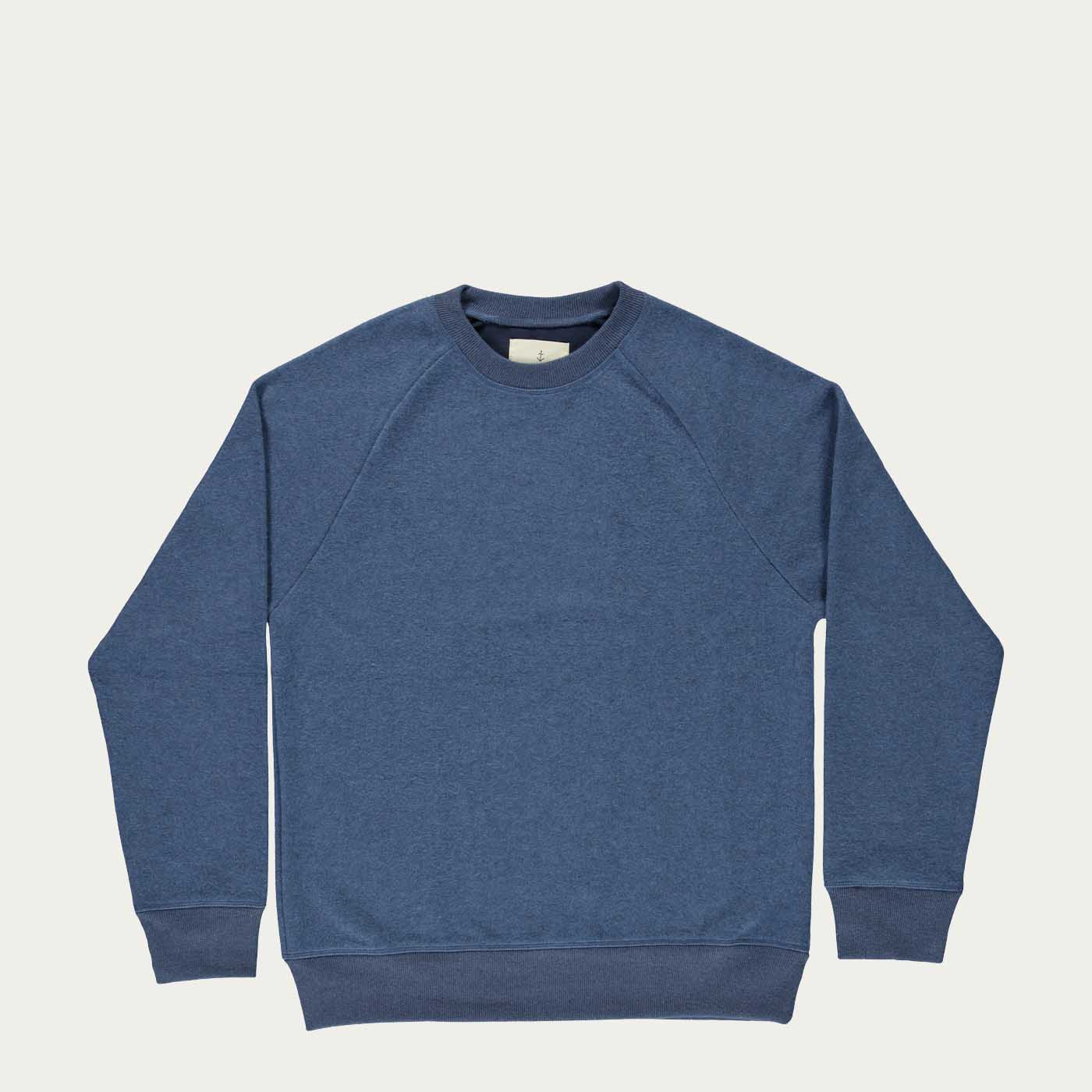 Soft Blue Felpa Cunha Sweatshirt | Bombinate
