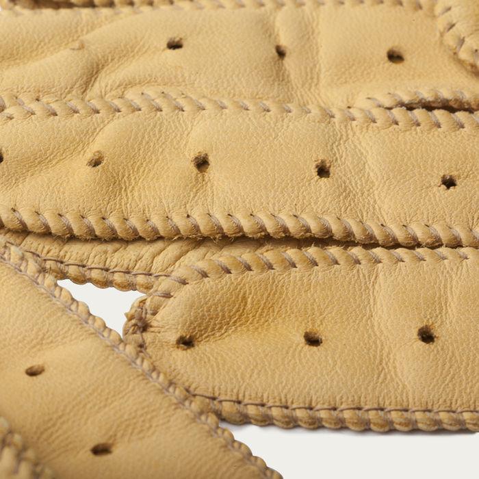 Cream Triton Driving Gloves  | Bombinate