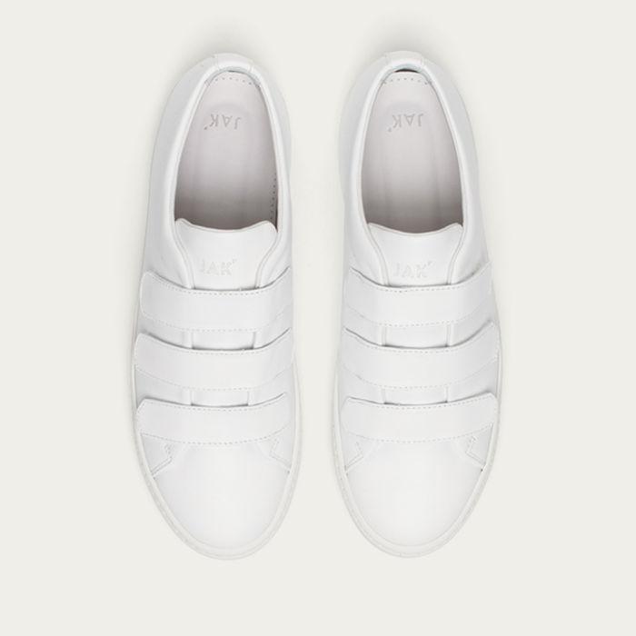 White Fika Sneakers   Bombinate