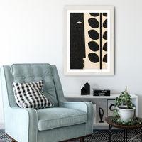 Lurking Art Print White Frame   Bombinate