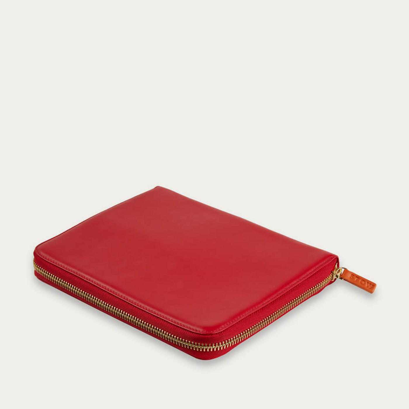 Ridge Red The First Class Leather Tech Case   Bombinate
