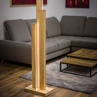 Oiled Oak Horizon I Floor Lamp | Bombinate
