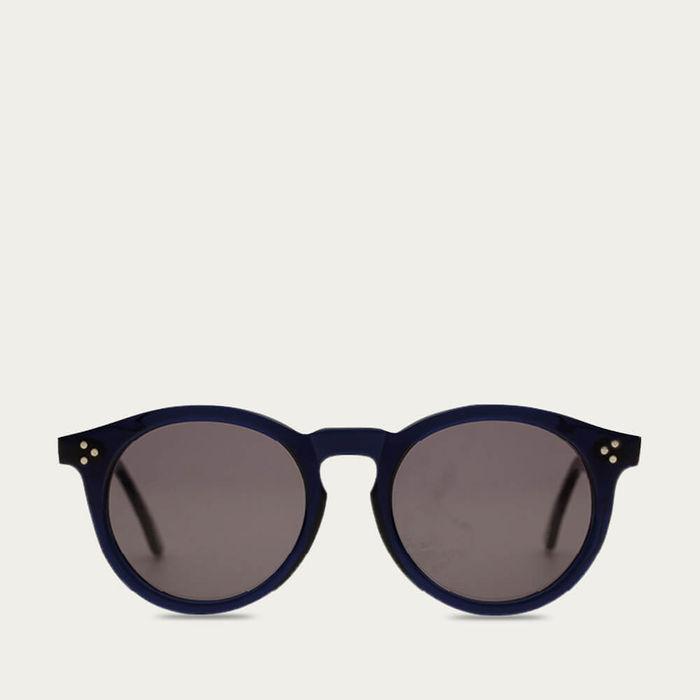 Navy Lotus Sunglasses | Bombinate