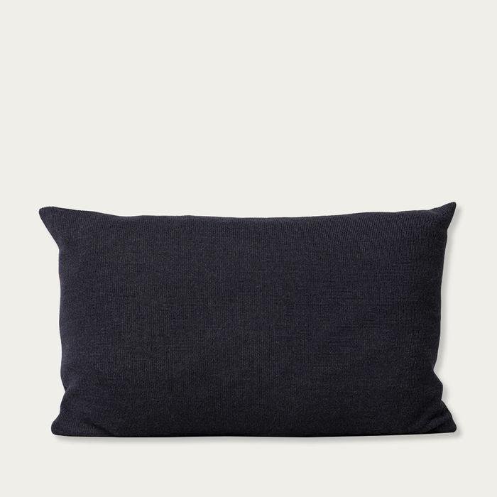 Dark Blue Aymara Cushion | Bombinate