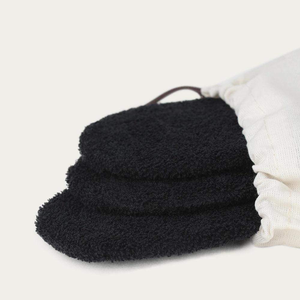 Black Invisible Terry Socks | Bombinate