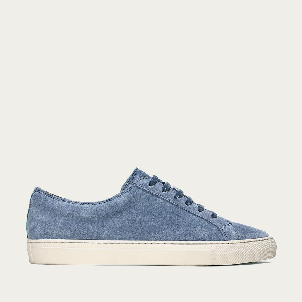 Light Blue Cambridge Sneaker | Bombinate