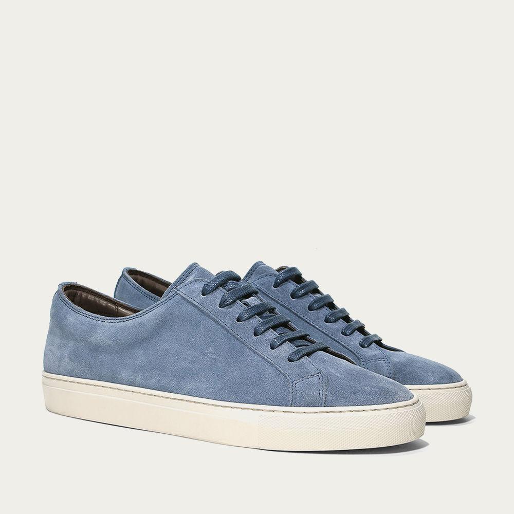 Light Blue Cambridge Sneaker | Bombinate