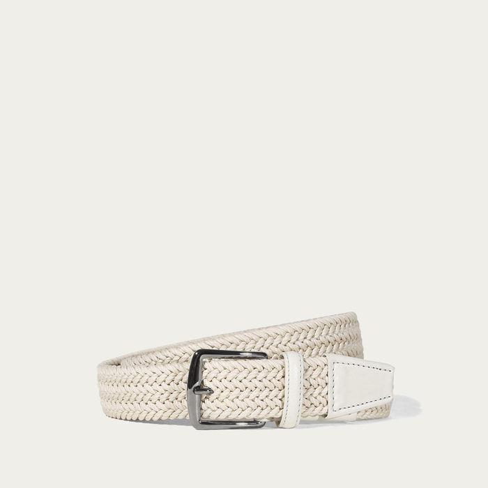 Off-White Waxed Cotton Belt | Bombinate