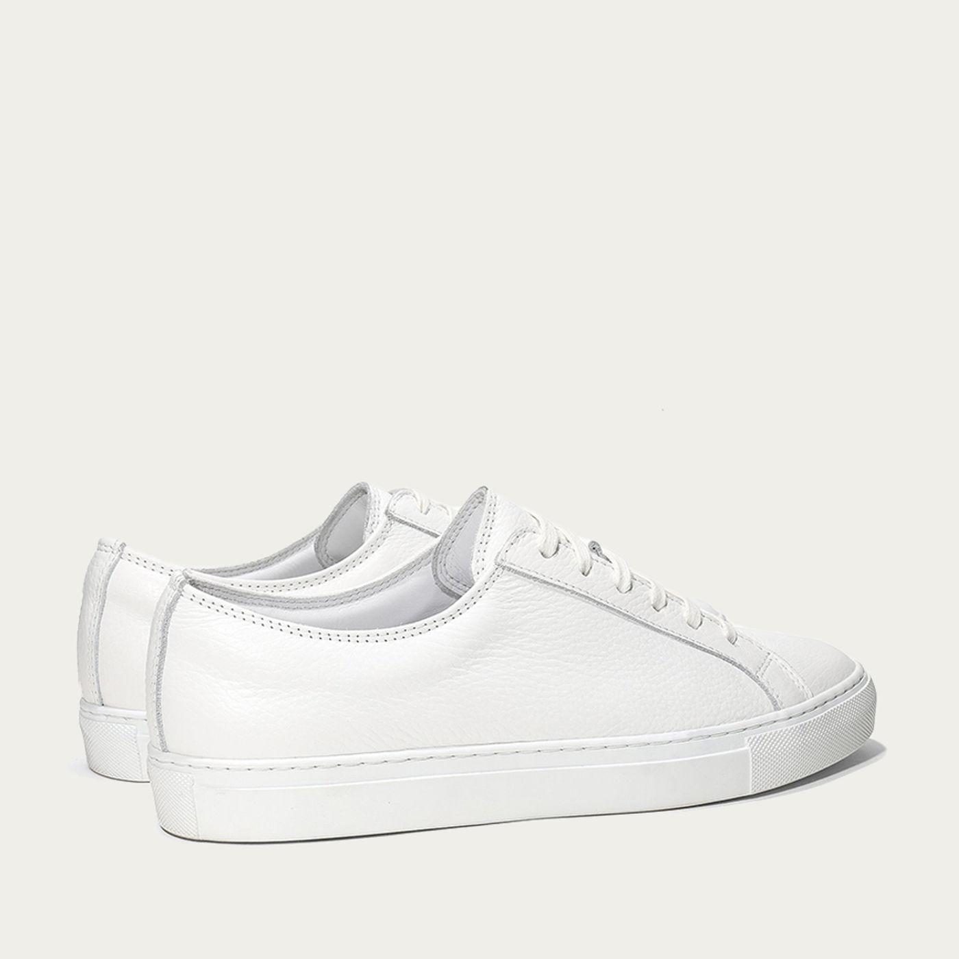White Cambridge Sneaker   Bombinate