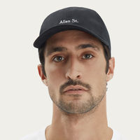 Black Gary - Cotton Twill Hat | Bombinate