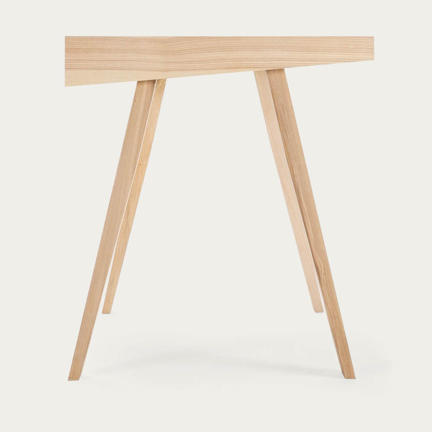 Lithuanian Ash 1 Drawer 4.9 Desk | Bombinate