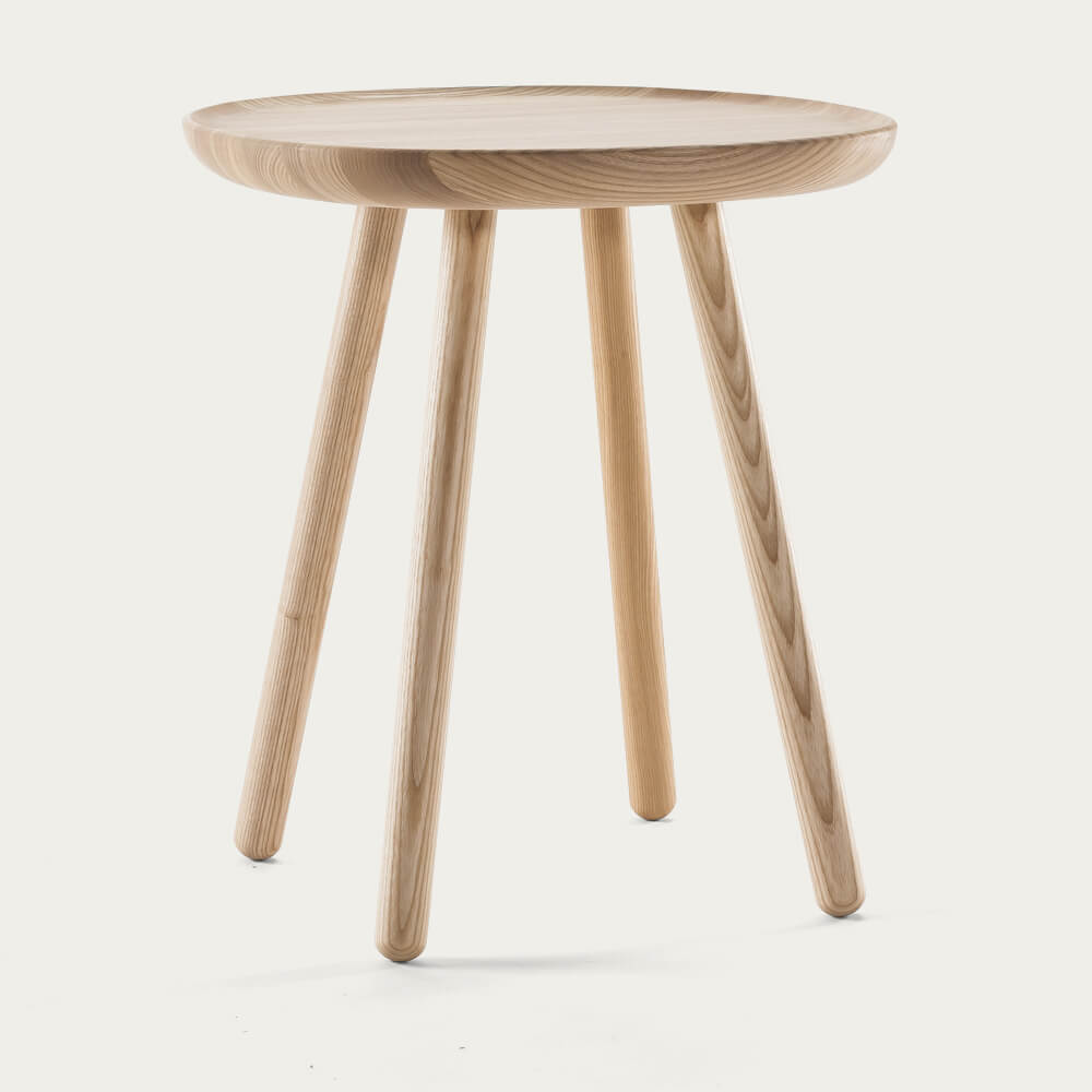 Natural -Oiled Naive Side Tables | Bombinate