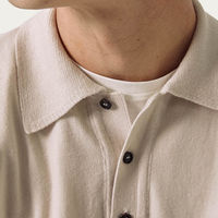 Cream The Merino Wool Polo | Bombinate