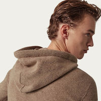 Camel The Upcycled Cashmere Hoodie | Bombinate