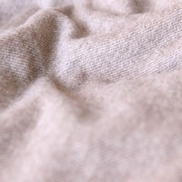 Light Brown The Cashmere Blanket with Fringes | Bombinate