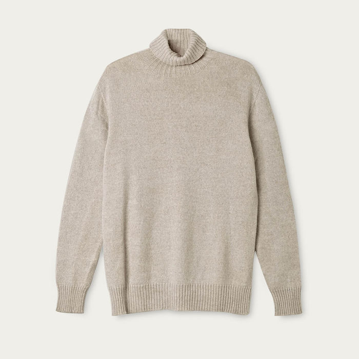 Pearl The Wool Turtleneck Sweater | Bombinate