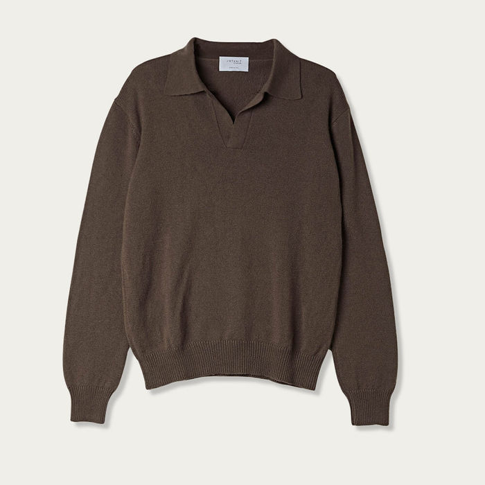 Brown The Cashmere Vintage Polo | Bombinate