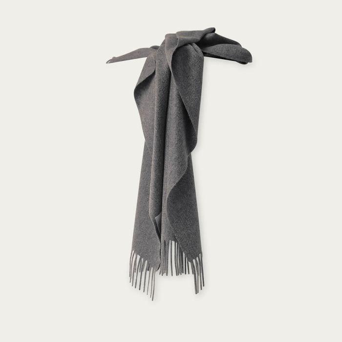 Grey The Zibeline Cashmere Scarf | Bombinate