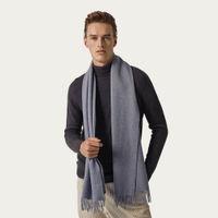 Light Blue The Alpaca Wool Scarf | Bombinate