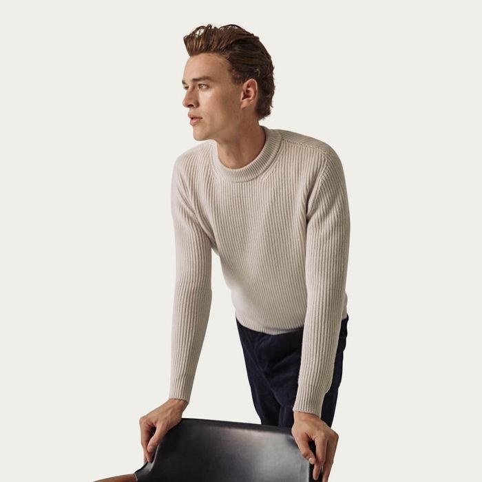 Cream The Wool Perkins Sweater | Bombinate