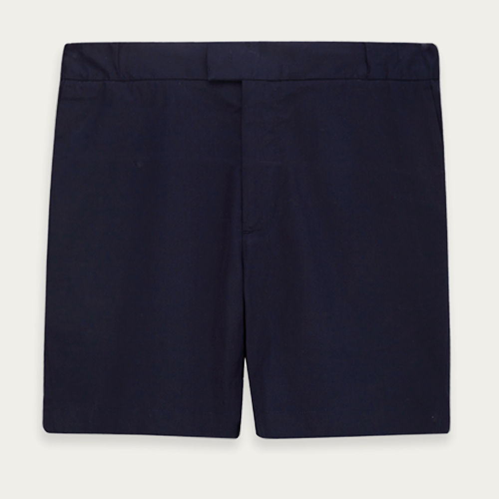 Navy 12 Shorts | Bombinate