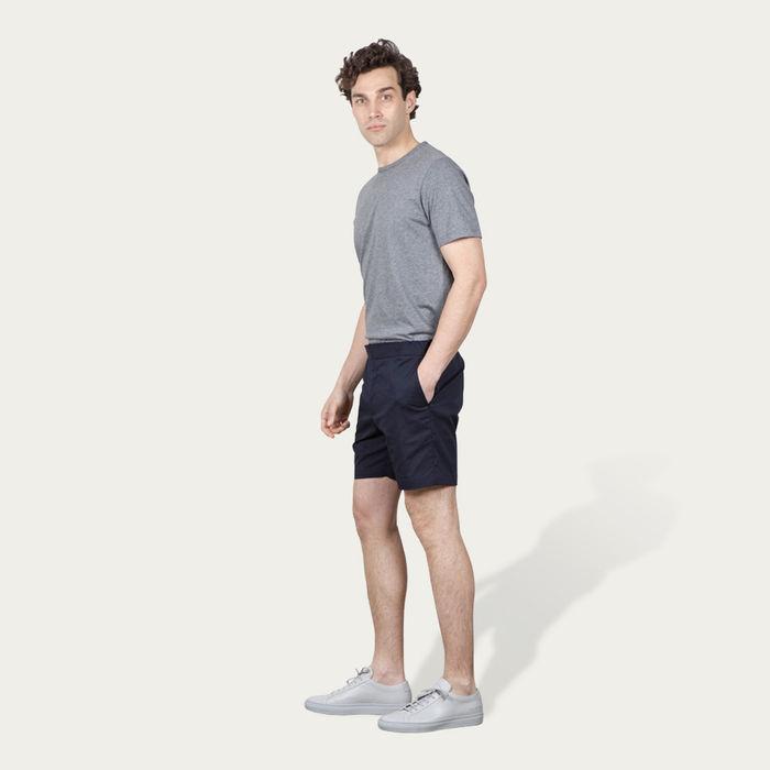 Navy 12 Shorts   Bombinate