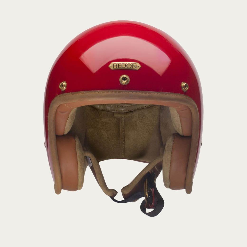 Red Hedonist Helmet | Bombinate
