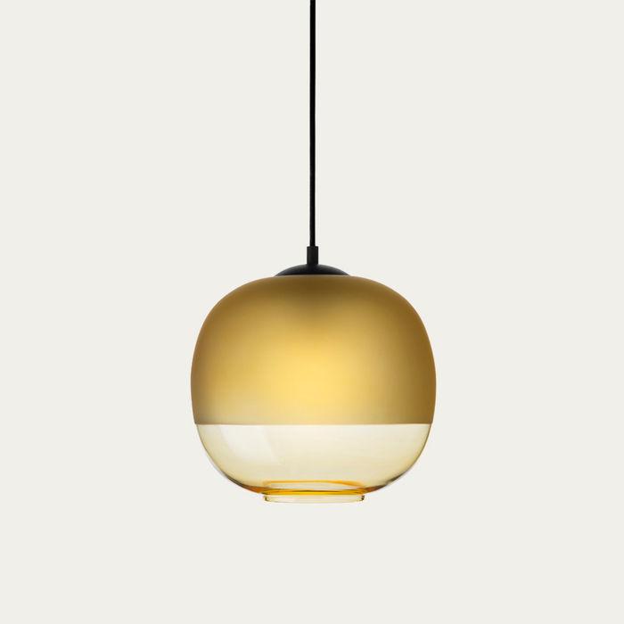 Amber Glass Bale Pendant Lamp  | Bombinate