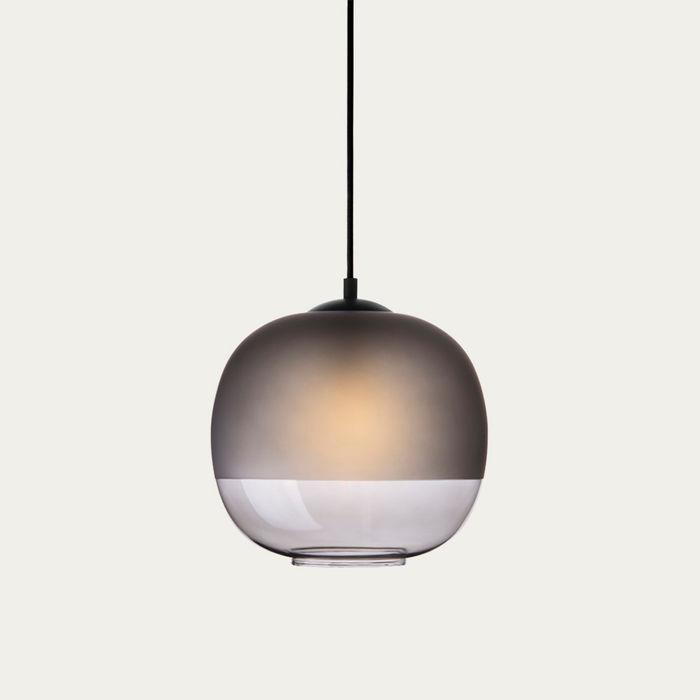Smoked Glass Bale Pendant Lamp  | Bombinate