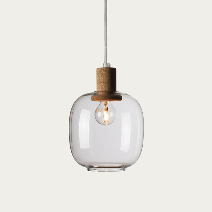 Clear Glass Picia Pendant Lamp  | Bombinate