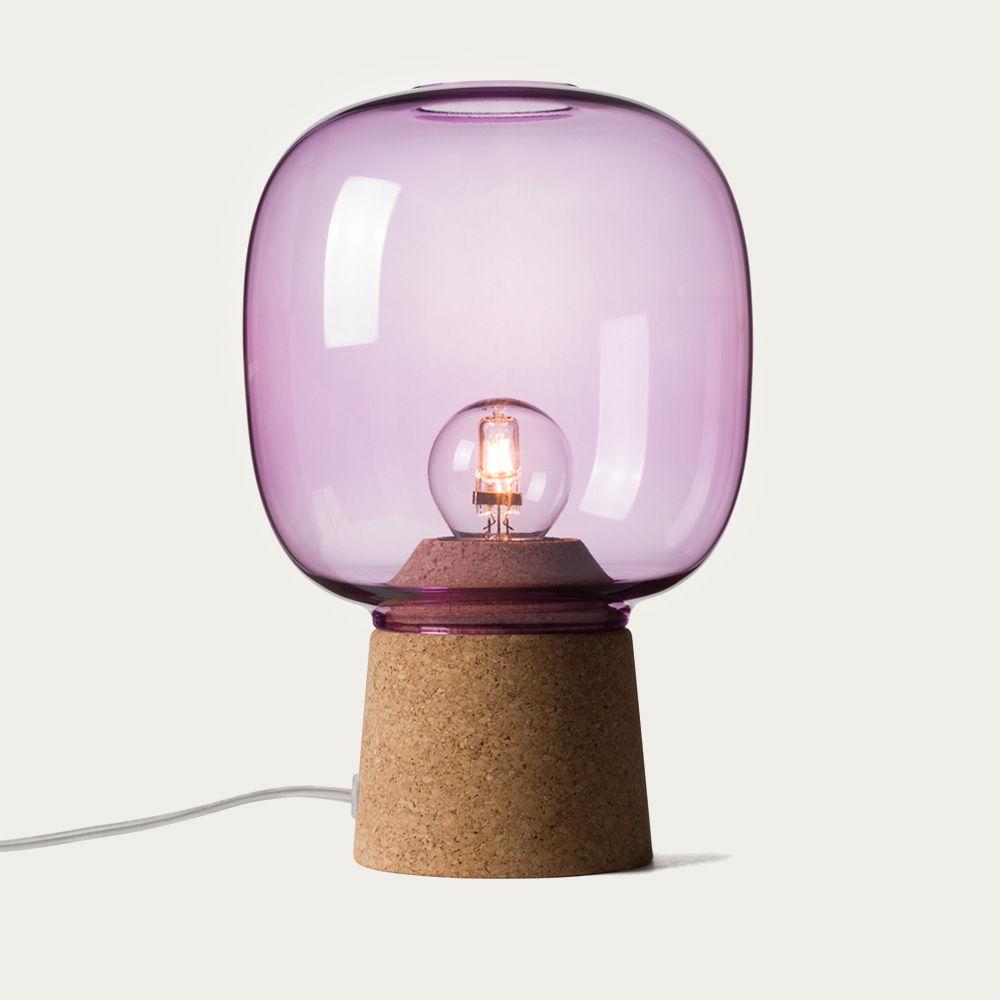 Purple Glass Picia Pendant Lamp  | Bombinate