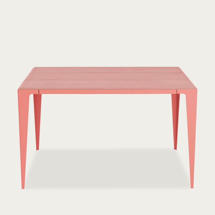 Kalypso Red Chamfer Table | Bombinate