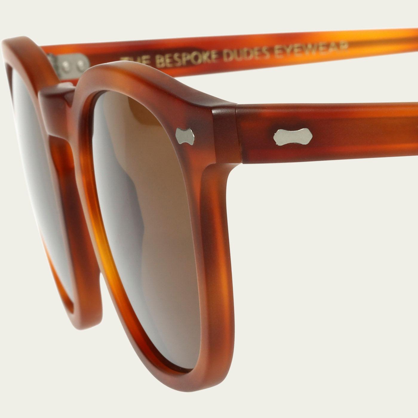 Matte Classic Tortoise /  Tobacco Twill Sunglasses | Bombinate