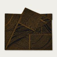 Moss Wood Block Throw | Bombinate