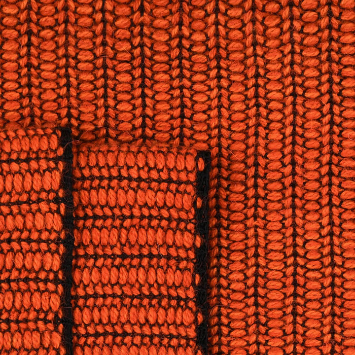 Coral Braided Throw | Bombinate