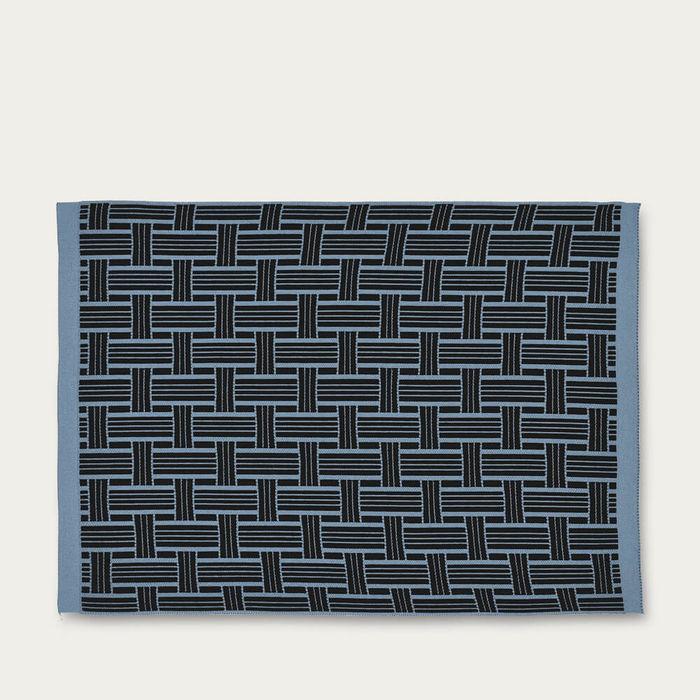 Blue Dark Basket Placemat | Bombinate