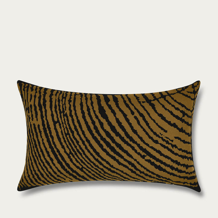 Moss Wood Block Rectangle Cushion Cover | Bombinate