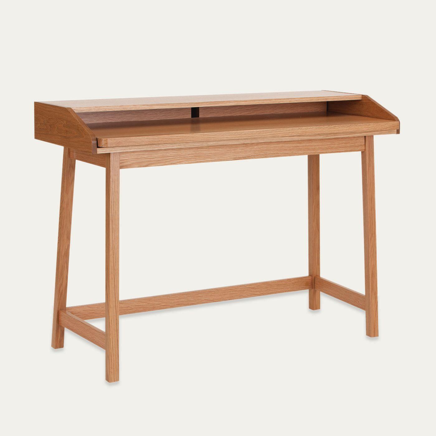 Oak St James Compact Desk | Bombinate