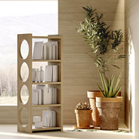 Oak Bau Bookcase   Bombinate